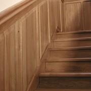Лестницы из массива натурального дерева фото