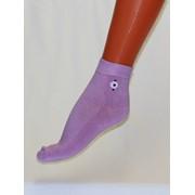 Носки женские гладкие с рисунком С630 фото
