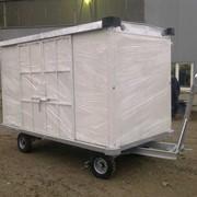 Тележка багажная крытая ТГК-2000-03 фото