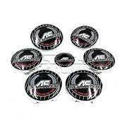 Комплект эмблем AC Schnitzer Color для тюнинга BMW фото