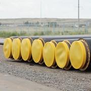 Трубы в ППУ-изоляции с защитной оболочкой из ПЭВП фото