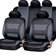 Чехлы Opel Frontera 1/3+2/3 черный к/з Классика ЭЛиС фото