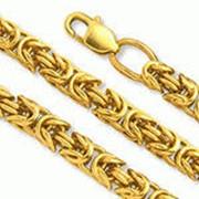 Золотые цепочки фото