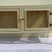 Клетка для кроликов средних пород фото