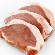 Мясо свинины охлажденное кусковое