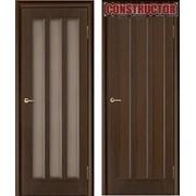 Дверь деревянная Vilario Gutta венге фото