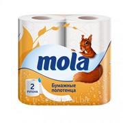 Mola Бумажные полотенца - 2 рул/уп, 54 л/рул, 2 слоя фото