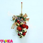 Гроздь шаров новогодние 64-0024 фото
