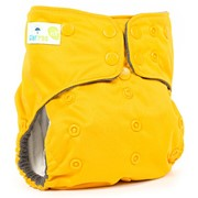 Многоразовый подгузник GlorYes! PREMIUM Банан 3-18 кг + два вкладыша фото