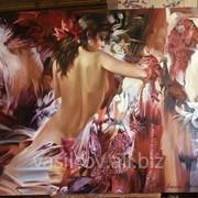 """Картина: """"Девушка с лилиями"""" фото"""