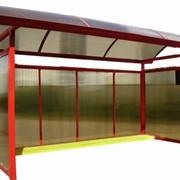Автопавильон металлический фото