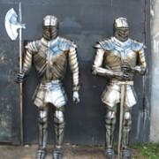 Скульптура Рыцарь фото