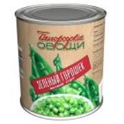 Горошек Зеленый ГОСТ, 300гр,ж/б высший сорт фото