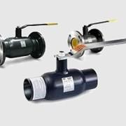 Кран стальной 11с/КШ-сварка (L-320), DNxPN 100x25 фото