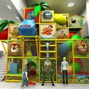Детский игровой лабиринт Солнечный фото