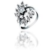 Кольца из серебра 100063 ДУЕТ НОВЫЙ фото