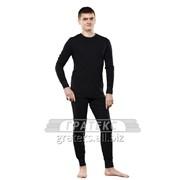 Фуфайка (термо) 350-S/BК, мужская, цв.черный, GUAHOO Outdoor Mid-Weight фото