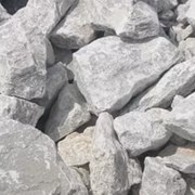 камень гипсовый 2сорт(фракции:0-20,20-60,60-300мм) фото