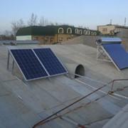 Установка альтернативных источников электроенергии и тепла фото