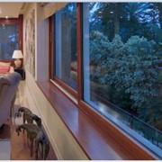 Теплые окна, алюминевые фото