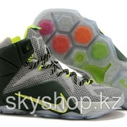 Кроссовки Nike LeBron XII 12 Grey Green Elite Series 40-46 Код LBXII15 фото