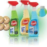 Средство для очистки стекол Flash фото