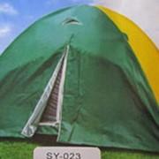Палатка туристическая SY-023 (8-ми местная) 2,2х3х1,7м фото
