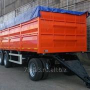 Прицеп-зерновоз модель 8499СХ бортовой фото