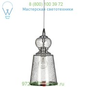 OB-5LONG-LGCL Long Lafitte Pendant Light (Clear Seeded Glass) - OPEN BOX RETURN Jamie Young Co. фото