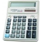 Калькулятор CITIZEN SDC-740II, 14 разрядный, настольный фото