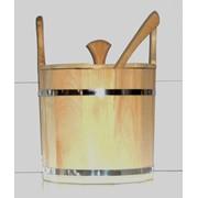 Запарник с крышкой для бани, сауны, запарник фото