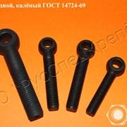 Болт ГОСТ 14724-69 откидной, калёный  фото
