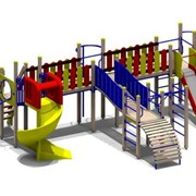 Детские игровые уличные комплексы фото