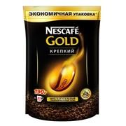 Кофе Nescafe GOLD Strong DoyPack Ergos ( крепкий ) фото