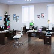 Комплект офисной мебели Сокол П К3 Венге фото