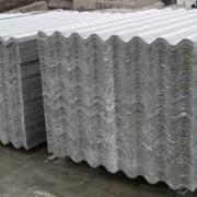 Листы асбестоцементные восьмиволновые серые размер 1 750*1 130*5,8 мм фото