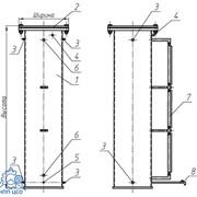 Баки для систем водоснабжения и канализации (БВ, БЦВ, МСБ) фото