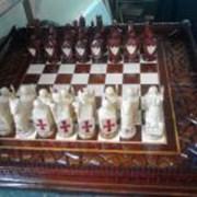 Шахматы авторской работы фото