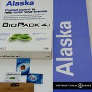 Картон Аляска, купить во Львове. Широкий ассортимент картонно-бумажной продукции фото