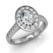 Кольца с бриллиантами D40487-1 фото