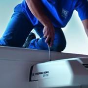 Монтаж холодильных установок на автотранспорт фото