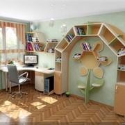 Детская комната рабочая зона солнышко фото