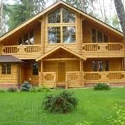 Строительство деревянных домов под ключ фото