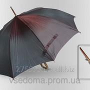 Зонт Антишторм трость Бордово-изумрудный
