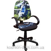 Компьютерное Кресло Поло 50/АМФ-5 Дизайн №17 Вертолет фото