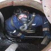 Очистка нефтяных резервуаров фото