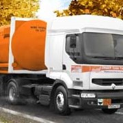 Перевозки грузов в автомобильных цистернах фото