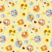 Ткань постельная Фланель 170 гр/м2 90 см Набивная/Детская 5070-2 цветной/S505 PTS фото