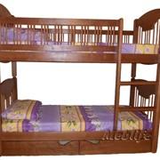 Кровать детская двухъярусная Ксения фото