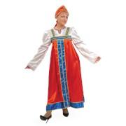 Костюм карнавальный для взрослых Марья-искусница фото